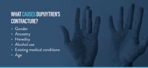 what causes dupuytren's contracture