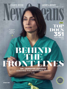 Front Cover of New Orleans Magazine Top Docs Issue 2020